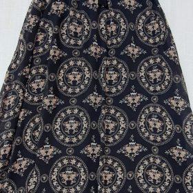 חצאית אלומה מקסי הדפס 1