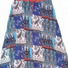 חצאית אלומה מקסי הדפס 6