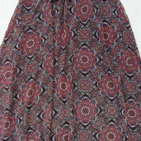 חצאית אלומה מקסי הדפס 7