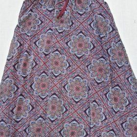 חצאית אלומה מקסי הדפס 8