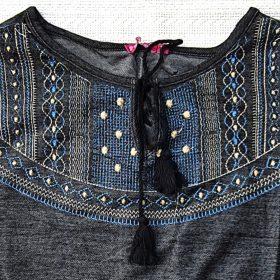 שמלת לינוי שחור
